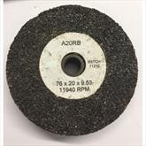 76 x 20 x 9.53 A20RB Grinding Wheel